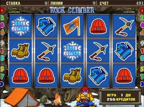 Казино с моментальным выводом денег - Rock Climber