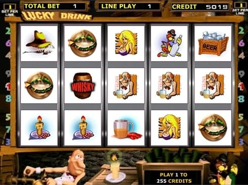 Онлайн казино с быстрым выводом денег - Lucky Drink